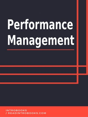 cover image of Performance Management
